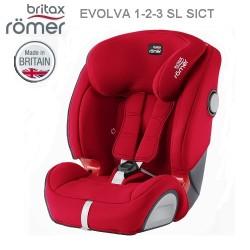 Britax EVOLVA 1-2-3 SL SICT Car Seat - Red