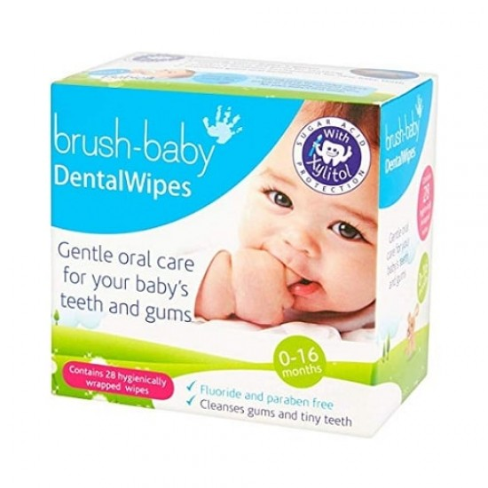 Brush-Baby DentalWipes - 28 pcs