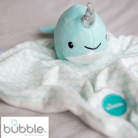 Bubble Buddy - Tusky the Narwhale