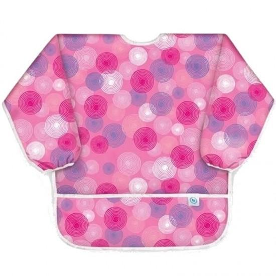 Bumkins Waterproof Child Smocks - Pink Groove