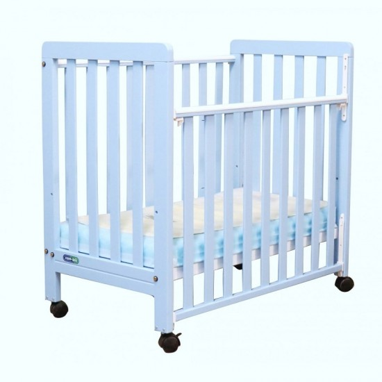 "C-Max Baby Cot (888)  Blue - 22"" x 38"""