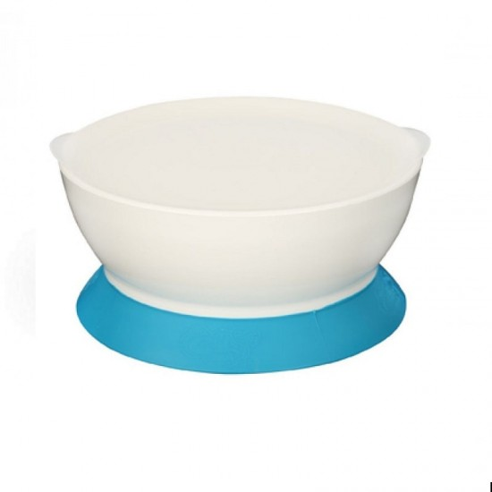 CaliBowl 12oz Non-Spill Toddler Suction Bowl w/ Lid