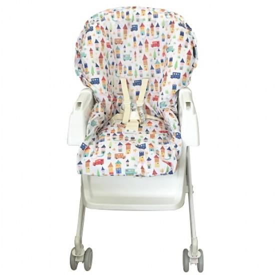 California Bear Water Repellent High Chair Protector - Cityspace