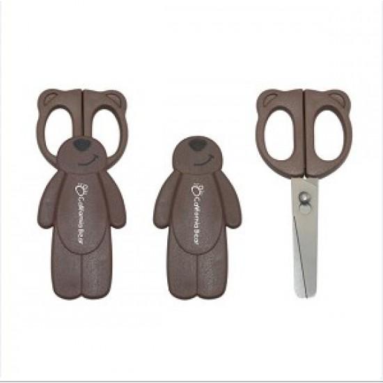 California Bear Detachable Baby Food Scissors – Chocolate Bear