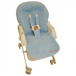 California Bear High Chair Protector - Blue