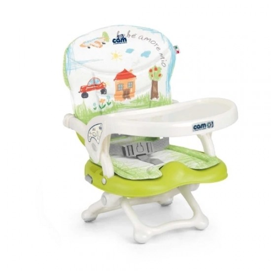 CAM Smarty Pop booster seat - House
