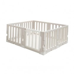 Caraz LINE 7+1 Baby Room and Play Mat Set with Panel Holders - Chic Beige