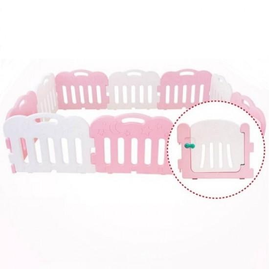 Caraz 9+1 Baby Room - Pink  - 221 x 148 cm