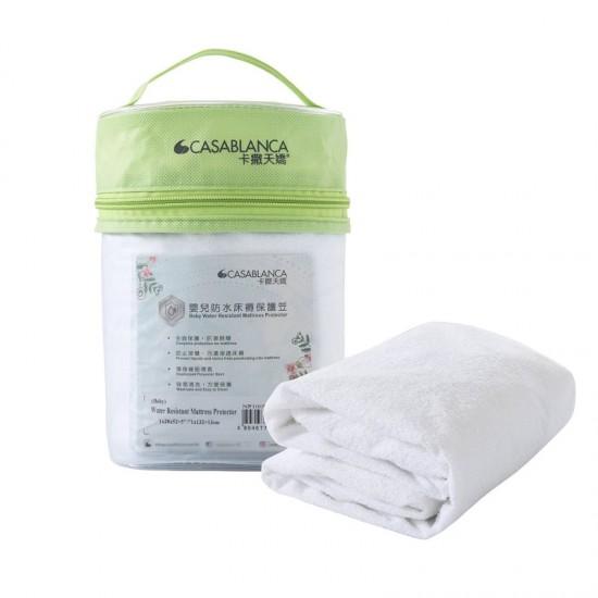 "Casablanca Babies Water Resistant Mattress Protector - 28 x 52"""