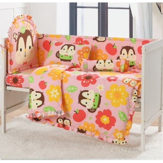 Casablanca Squly & Friends 12 pcs Baby Bed Set - SF002