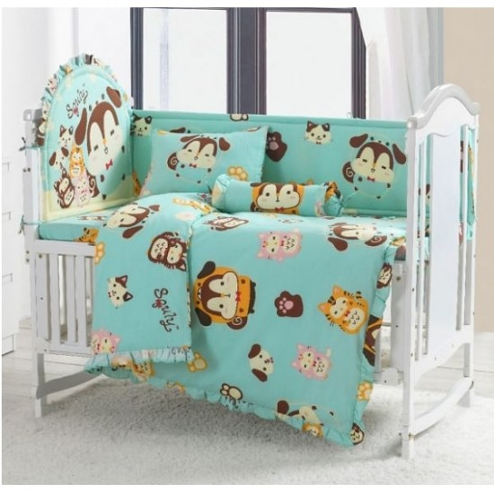 Casablanca Squly & Friends 12 pcs Baby Bed Set - SF003