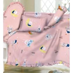 Casablanca Joy Rabbit 12 pcs Baby Bed Set - CC023