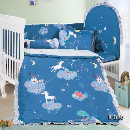 Cherry 12 pcs Baby Bed Set - IF016