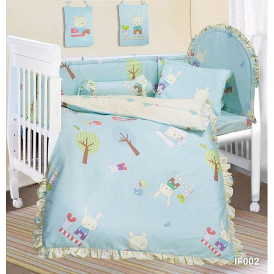 Cherry 12 pcs Baby Bed Set - IF002