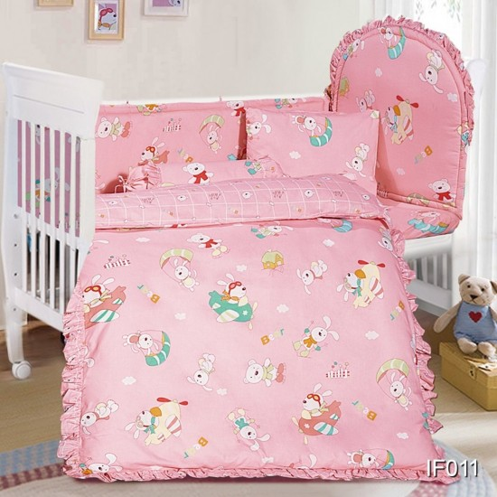 Cherry 12 pcs Baby Bed Set - IF011