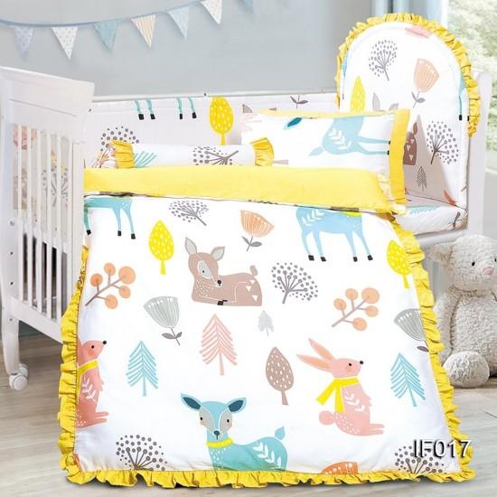 Cherry 12 pcs Baby Bed Set - IF017