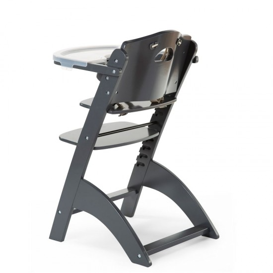 Childhome Lambda Baby Glow High Chair - Anthracite