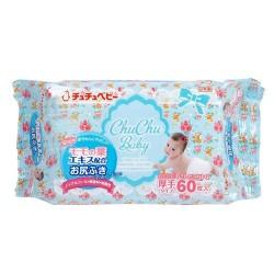 Chu Chu Wet Tissues - 60 pcs