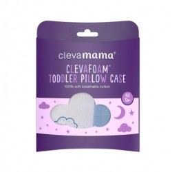 Clevamama ClevaFoam® Baby Replacment Pillow Case -Blue (2199)