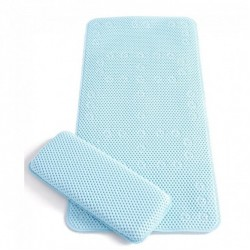 Clevamama Extra Long Bath Mat & Kneeling Cushion (7403)
