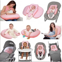 Clevamama CLEVACUSHION 10 in 1 Nursing Pillow - CoralConfetti  (3011)