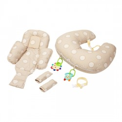 Clevamama CLEVACUSHION 10 in 1 Nursing Pillow - Cream (7502)