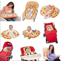 Clevamama CLEVACUSHION 10 in 1 Nursing Pillow - Multi Color (7228)