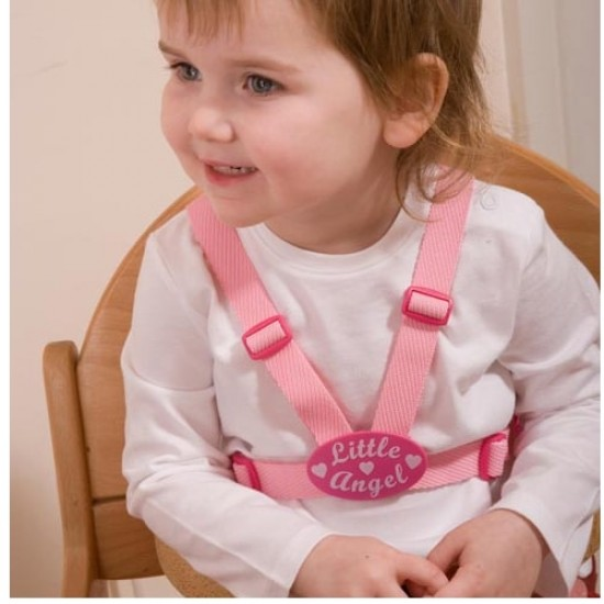 Clippasafe Little Angel Designer Harness (with Reins & Anchor Straps)