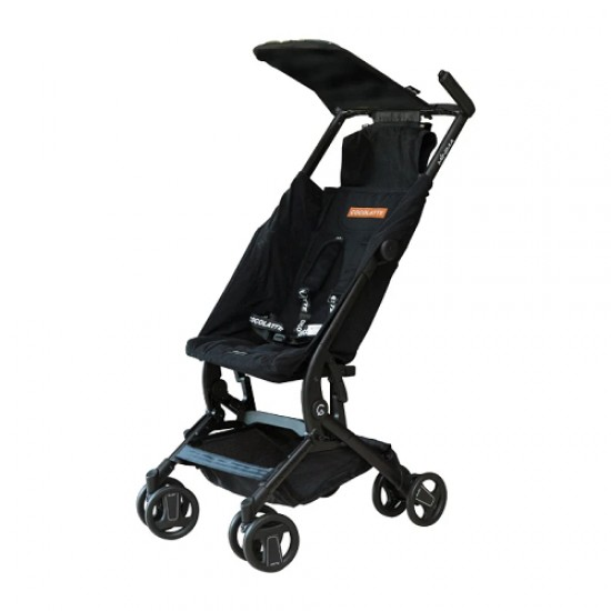 Cocolatte Minima Compact Stroller with Carrying Bag - Cool Black