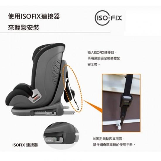 Combi Savetrek  Carseat ISOFIX EG / DG - Dark Grey