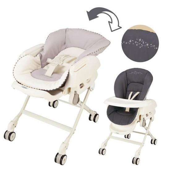 Combi High Chair Revisible Cushion - Grey