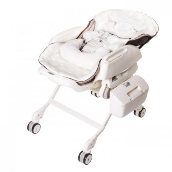 Combi Fealetto Auto Swing High & Low Bed Chair