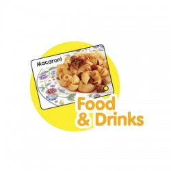 CrocoPen Talking Flash Cards - Food & Drink