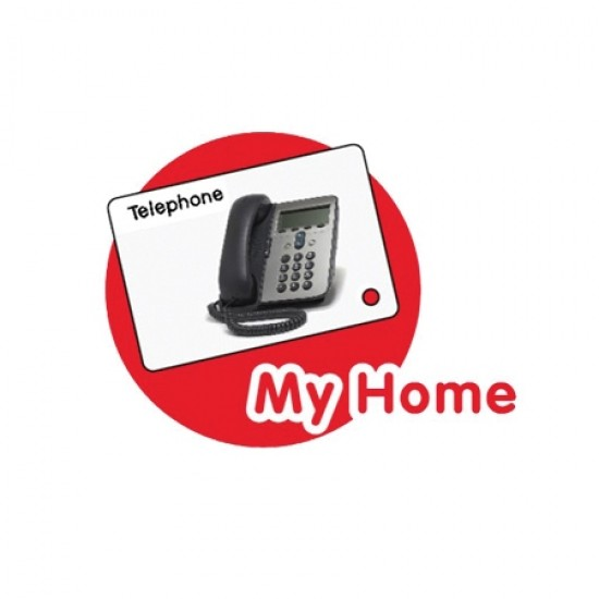 CrocoPen Talking Flash Cards - My Home
