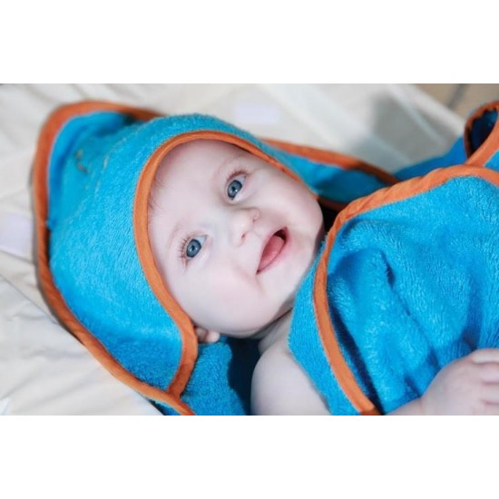 Cuddledry Cuddleswim Bamboo Baby Swim Towel