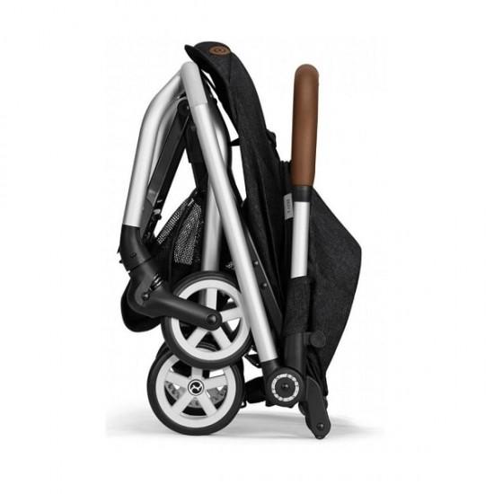 Cybex Eezy S Twist Stroller (Denim Collection) - Lavastone Black