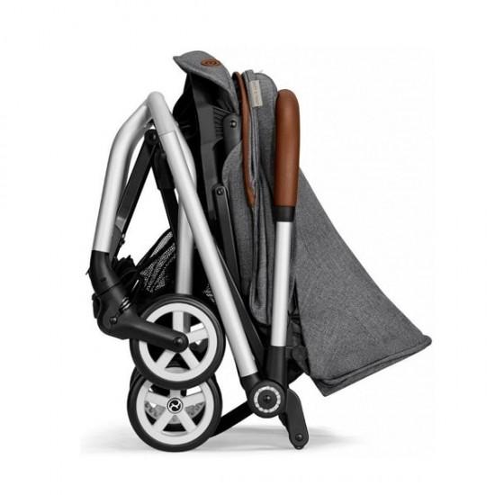 Cybex Eezy S Twist Stroller (Denim Collection) -Manhattan Grey