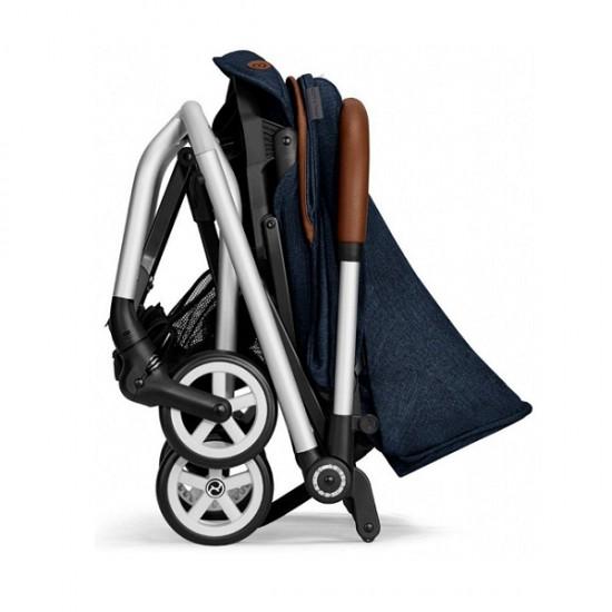 Cybex Eezy S Twist Stroller (Denim Collection) - Denim Blue