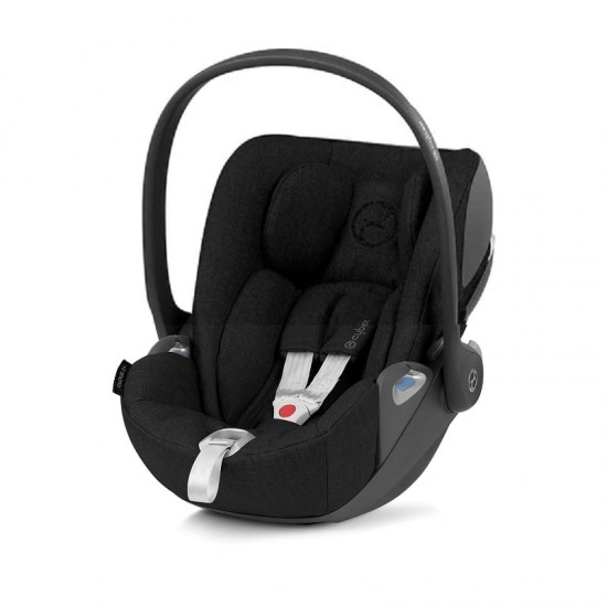 Cybex Z plus I-size Infant Car Seat -Deep Black