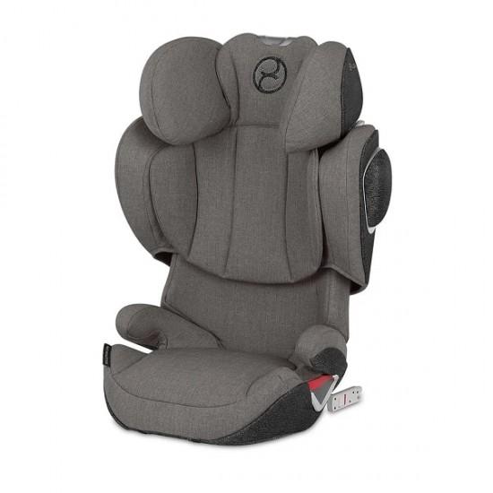 Cybex Solution Z-Fix Car Seat - Soho Grey