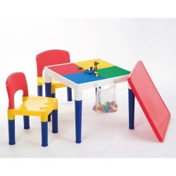 Delsun Table and Chair Set (with 100 pcs block and net bag)