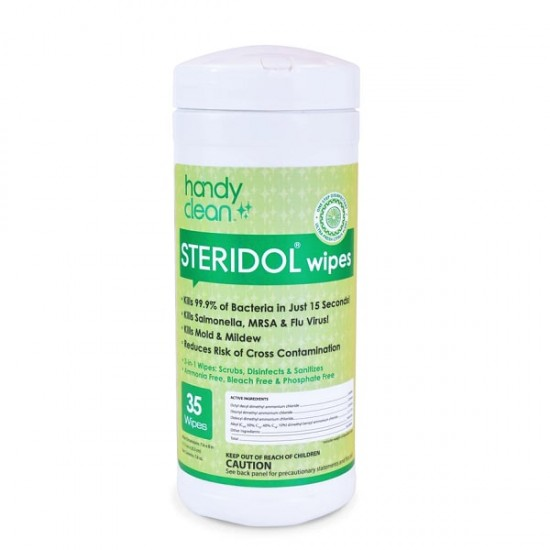Diamond Wipes Handyclean STERIDOL Wipes - 35 pcs