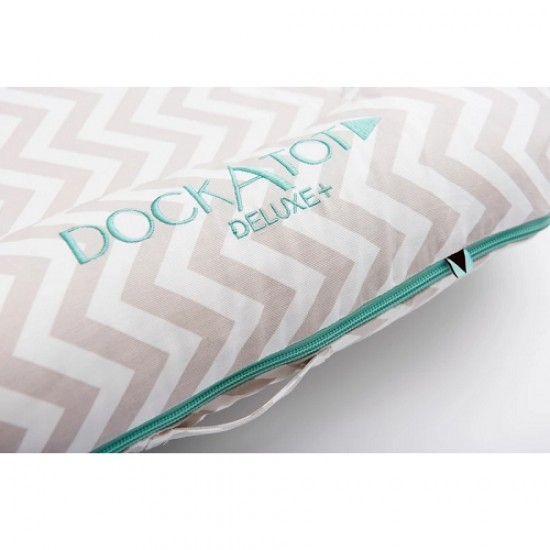 DockATot Deluxe+ Dock - Silver Lining (0-8 months)