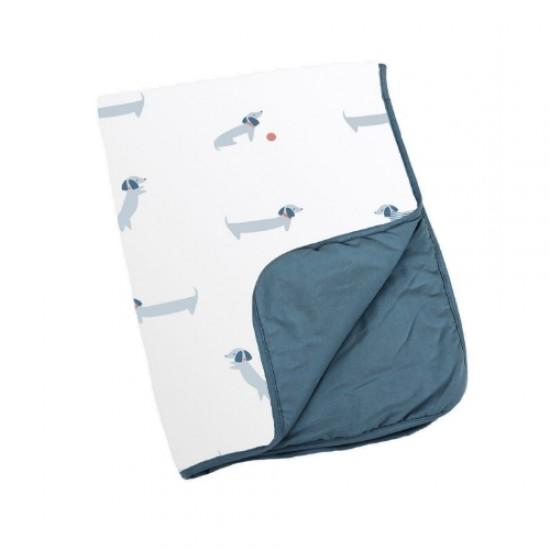doomoo dream cotton blanket - Dog Blue (DS20)