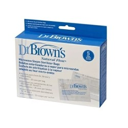 Dr Brown's Microwave Steam Sterilizer Bags - 5 pcs