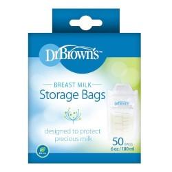 Dr Brown's Breastmilk Storage Bags - 50 pcs