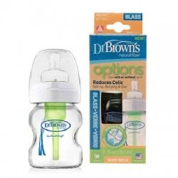 Dr Brown's Options Wide Neck Glass Bottle - 5oz