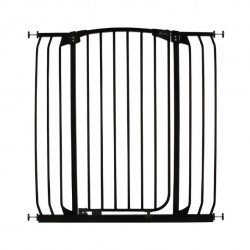 Dreambaby Chelsea Xtra Tall Auto Close Gate - 100 cm Height -97 - 108 cm - Black