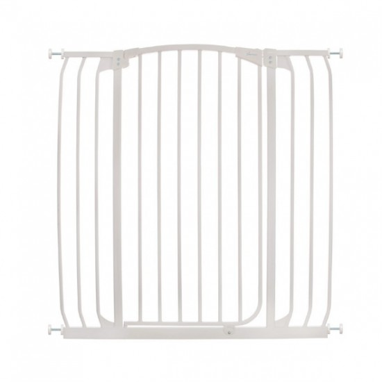 Dreambaby Chelsea Xtra Tall Auto Close Gate - 100 cm Height -97 - 108 cm - White