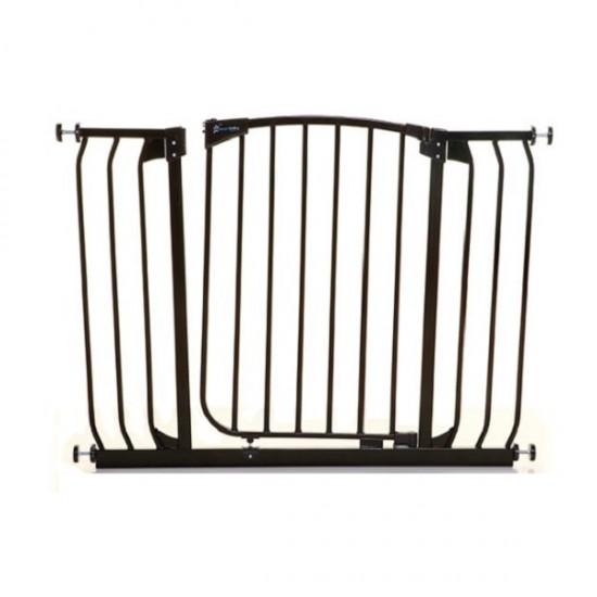 Dreambaby Chelsea Extra Wide Auto Close Gate - 97 -108 cm - Black